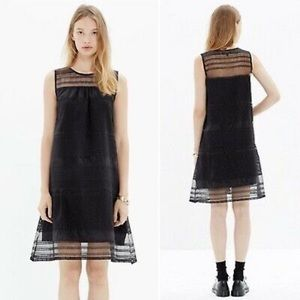 Madewell dusk sheer dress size 10